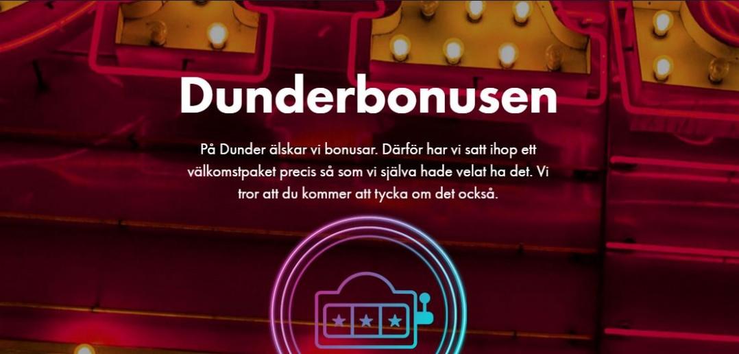 Dunder bonus sida