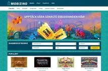 Mobizino startsida casino